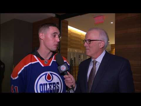 Sanchez: Mouth closed & ears open when meeting Gretzky