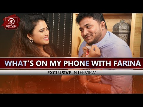 Whats On My Phone With Sun TV VJ Fa ..