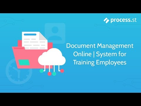 Document Management Online   System for Training Employees ...
