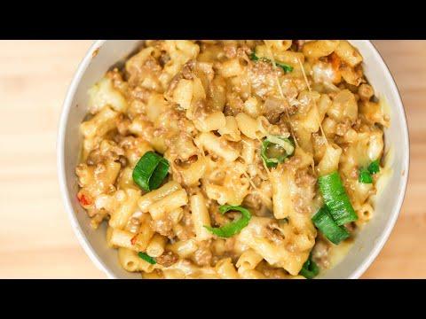 One-Pan Cheesy Taco Macaroni and Cheese