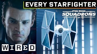 Every Starfighter From Star Wars: Squadrons Explained | WIRED
