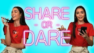Indiana Massara Shares What's In Her iPhone | SHARE OR DARE