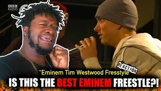 Eminem biggest ever freestyle in the world! - Westwood (REACTION!!!) | CLASSIC!