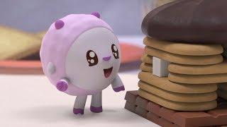 Малышарики - Сладкий дом - серия 128 - Обучающие мультфильмы для малышей - о десертах