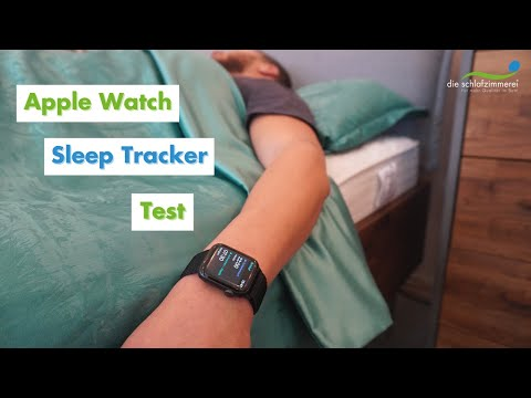 Apple Watch Sleep Tracker Test