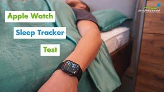 Apple Watch Sleep Tracker Test