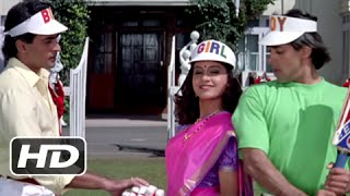 Tuffy's No Ball Scene - Superhit Bollywood Cricket Scene - Hum Aapke Hain Koun