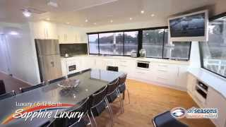 preview picture of video 'Sapphire Luxury Houseboat - All Seasons Houseboats Mildura'
