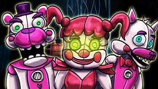 FNAF Sister Location | NEW AND IMPROVED ANIMATRONICS! (New FNAF Game)