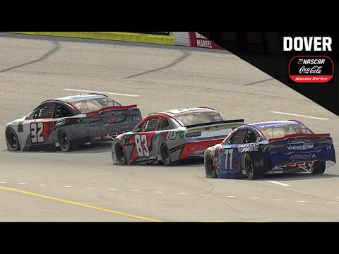 ENASCAR iRacingシリーズ第6戦 ドーバーインターナショナルスピードウェイ レースライブ配信動画