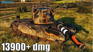 13900+ dmg С КУСТА на БАБАХЕ 🌟 FV4005 Stage II World of Tanks