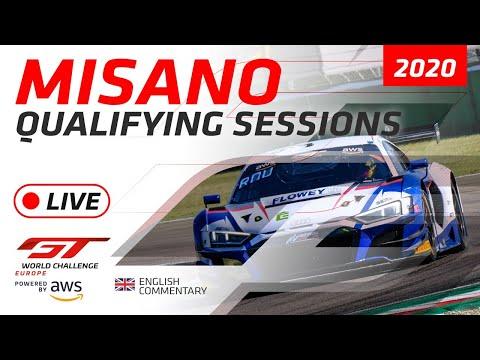 2020年 ブランパンGTシリーズ(ミサノ) 予選ライブ配信動画