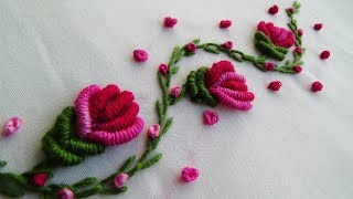 Hand Embroidery: Brazilian Embroidery Flowers
