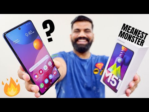 Samsung Galaxy M51 Unboxing First Look The Meanest Monster Ever New Video By Technical Guruji On Youtube Talk To Tech