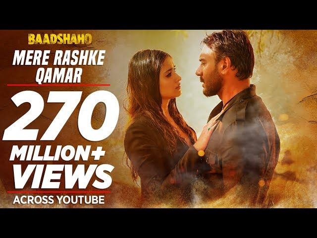 Mere Rashke Qamar Video Song | Baadshaho Movie Songs | Ajay Devgn, Ileana