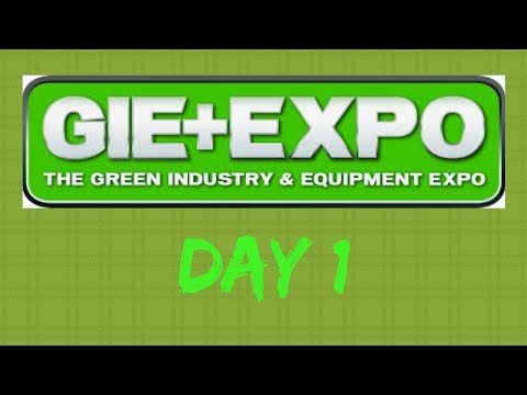 GIE+EXPO DAY 1!!!