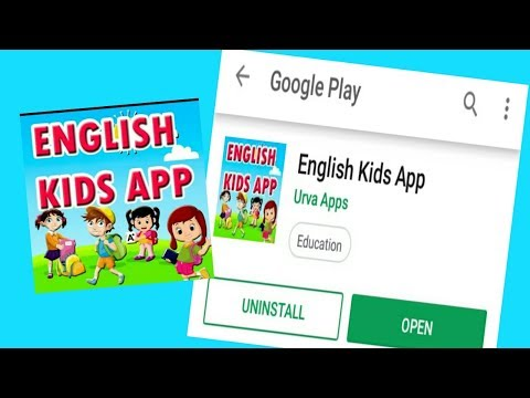 English Kids App – Best Education Apps Android For Kids