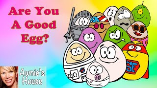 🥚 Kids Book Read Aloud: ARE YOU A GOOD EGG? By Peter Deuschle