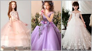 Most Beautiful Ball Gown Dresses For Kids//Flower Girl Dresses//Princess Dresses