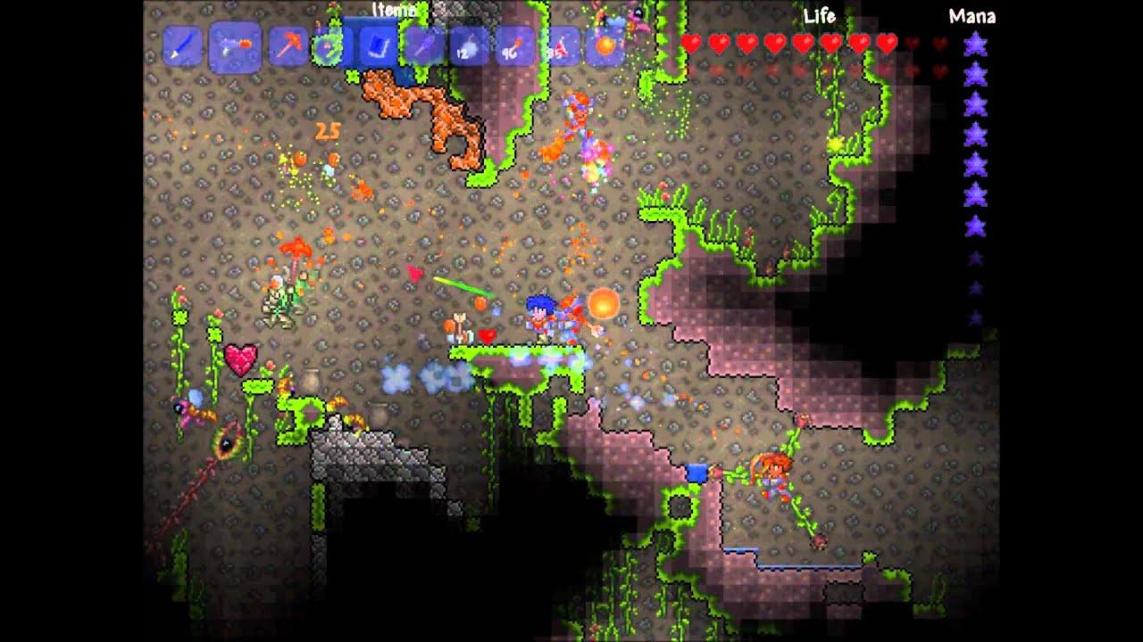 Somewhere Between Super Metroid And Minecraft Lies Terraria