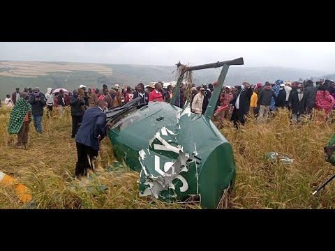 Governor Samuel Tunai, several others survive chopper crash