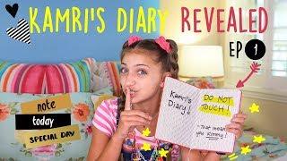 Kimmy Reads Kamri's Diary   Kamri Noel