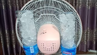How to make an amazing air cooler for summer