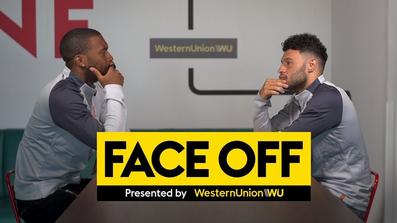 Face Off with Alex Oxlade-Chamberlain & Daniel Sturridge