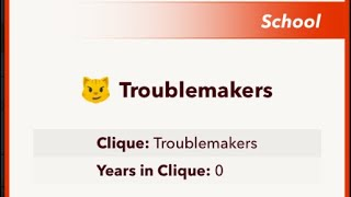 How to join the Troublemakers Clique in BitLife! (read desc)