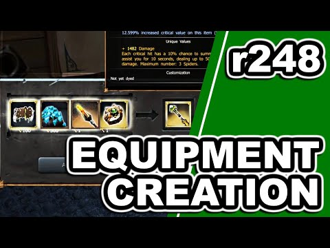 , title : 'R248 - Equipment Creation & Glowing Cave preview   Drakensang Online