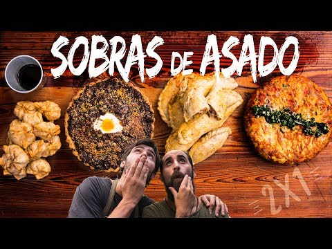 4 Recetas con Sobras de Asado | Cook & Laucha 2x1