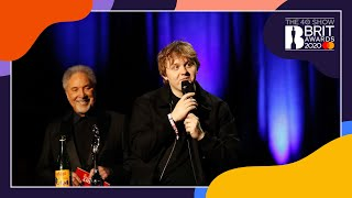 Lewis Capaldi wins Song of the Year   The BRIT Awards 2020