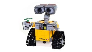 Lego® Wall-E, stop motion, set number 21303