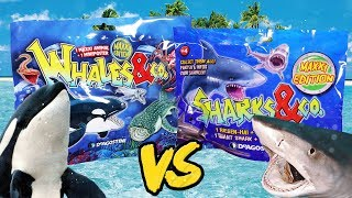 WHALES vs SHARKS und CO | Das Duell der Gummitiere | DeAgostini