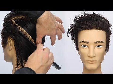 Modern Mens Bowl Haircut Tutorial with a Razor