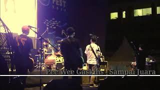 Pee Wee Gaskins   Sampai Juara.   (Live SnapFest 2019 SMAN 55 JAKARTA)