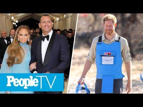 Prince Harry Visits Landmine Field, Alex Rodriguez On J.Lo's Super Bowl 'Dream'   PeopleTV