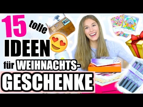 15 coole WEIHNACHTSGESCHENK-IDEEN für MÄDCHEN + JUNGS + JEDEN ♡ BarbieLovesLipsticks