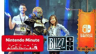 Nintendo Goes to BlizzCon! - Nintendo Minute