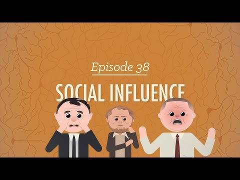 Social Influence Crash Course Psychology 38