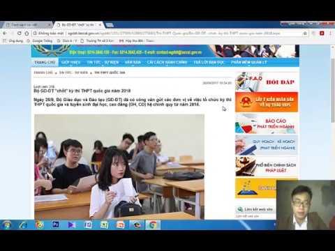 Cách đăng bài lên website - Đăng bài lên website nhà trường [Trường Tiểu học - Năm 2018]