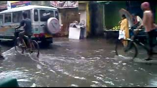 preview picture of video 'Kolkata Is under water'
