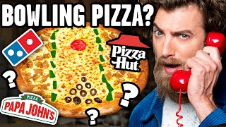 Complicated Pizza Order Challenge ft. Gus Johnson