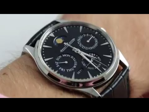 Jaeger-LeCoultre Master Ultra Thin Perpetual Q1308470 Luxury Watch Review
