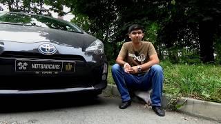 Toyota Aqua - Просторный ли салон? ЭРА-Глонасс