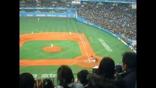 WBC強化試合〈京セラ〉イチローの打席すごいフラッシュ‼