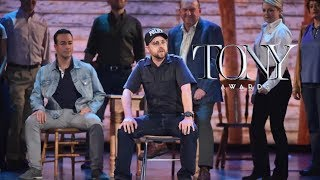 """""""Welcome to the Rock"""" — Come From Away, Tonys 2017 performance"""