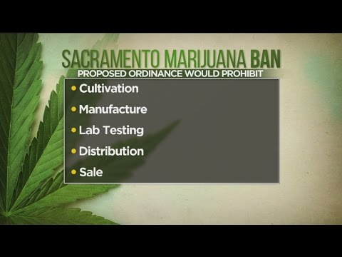 Sacramento County To Vote On Banning Commercial Marijuana Businesses