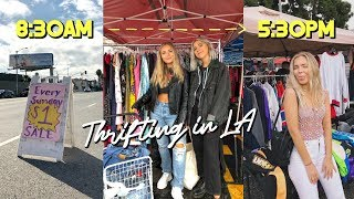 Come Thrift with US in L.A! Full day of thrifting...(I'm broke now)