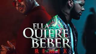 Ella Quiere Beber     - Anuel Aa  Feat. Romeo Santos  Clean Version
